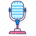 audio, recorder, recording, voice, voice memo icon