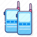 communication, talkie, walkie, walkie talkie icon