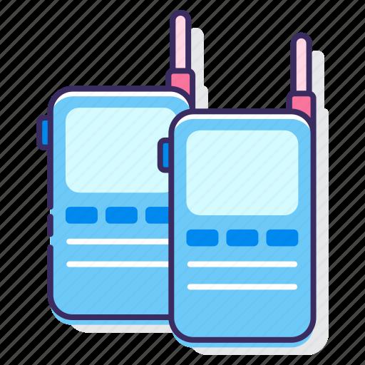 communication, talkie, walkie, walkie talkie icon