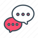 chat, comment, communicate, communication, conversation, feedback, speech icon