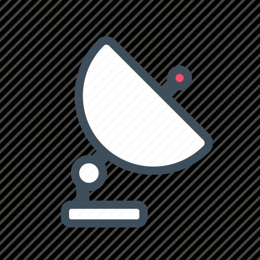 communication, radar, satellite, satellite dish icon