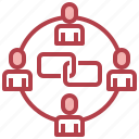group, link, network, people, team