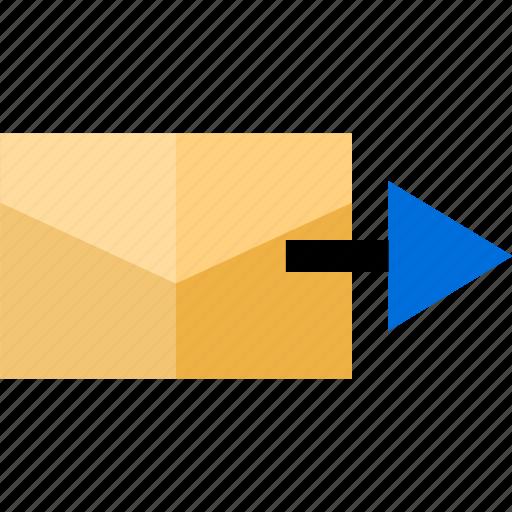 email, fast, forward, send icon