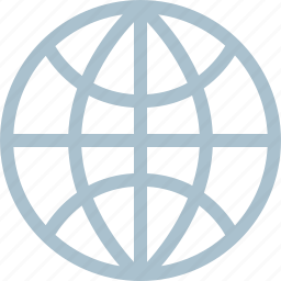 globe, internet, web, world icon
