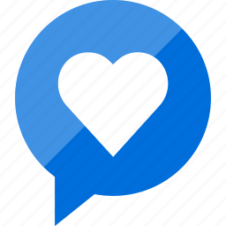 chat, favorite, love, save icon