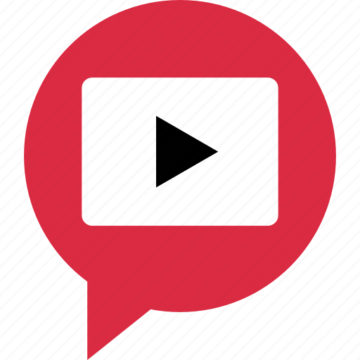play, tube, video, youtube icon