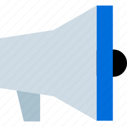 chat, loud, speaker, talk icon