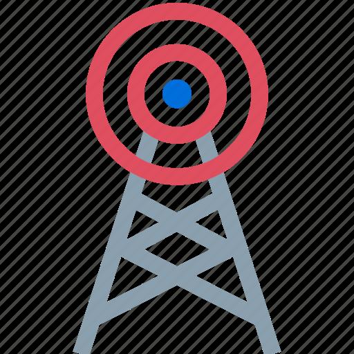 att, communication, sprint, tower icon