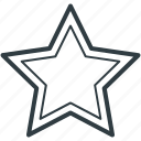 bookmark, favourite, ranking star, rating star, star icon