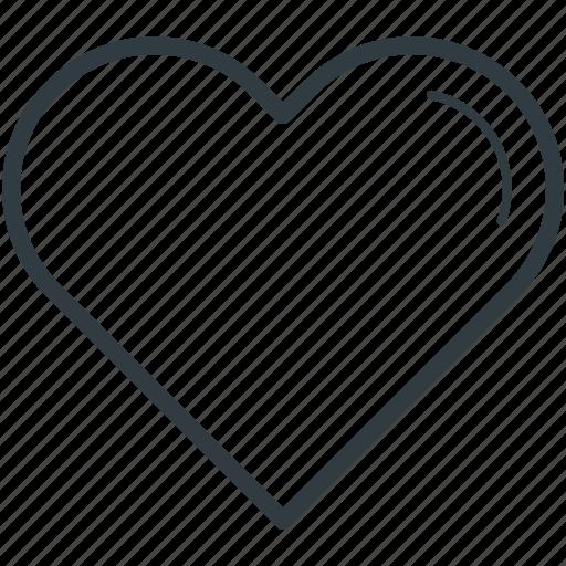 favorite sign, heart, heart shape, like, love icon