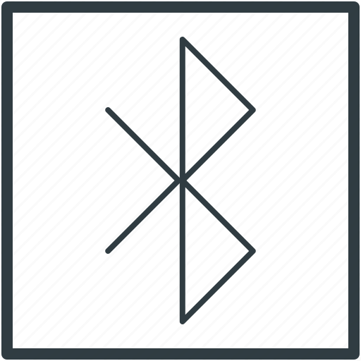 bluetooth, bluetooth sign, data sharing, wireless connectivity, wireless technology icon