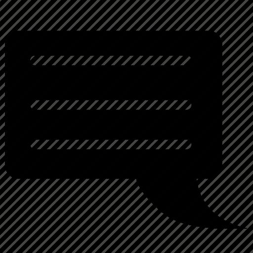 chat, talk, topics icon