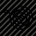 aim, arrow, bullseye, center point, goal, objective, target