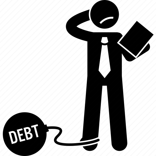 debt, liability, loan icon