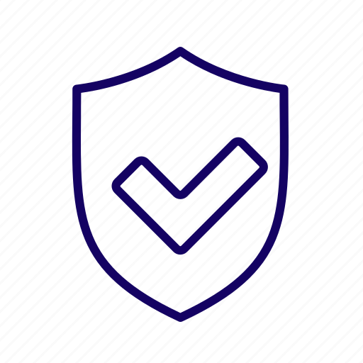 confidence, security, shield icon