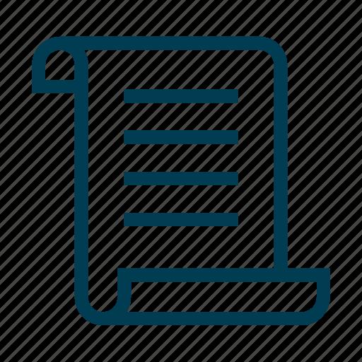 define, plan, steps, write icon