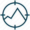 aim, goal, stake, target icon