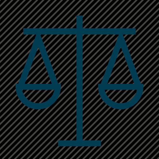 Balance Justice balance, justice, values, vision icon