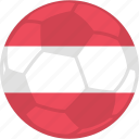 austria, olympic games, olympics, soccer icon
