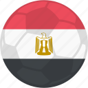 contest, egypt, flag, football icon