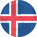 iceland, match, soccer, tournament icon
