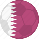 competition, flag, football, qatar, tournament