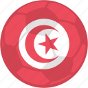 bout, flag, olympic games, tunisia icon