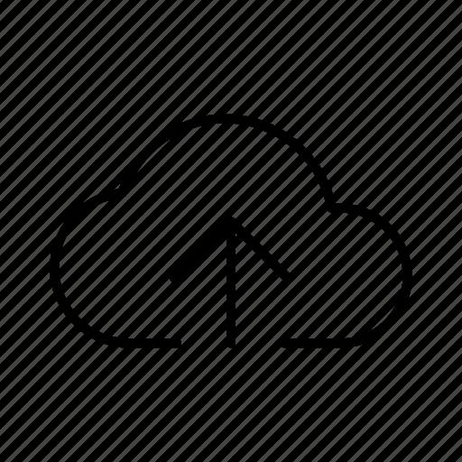 Cloud, data, database, internet, server, storage, upload icon - Download on Iconfinder