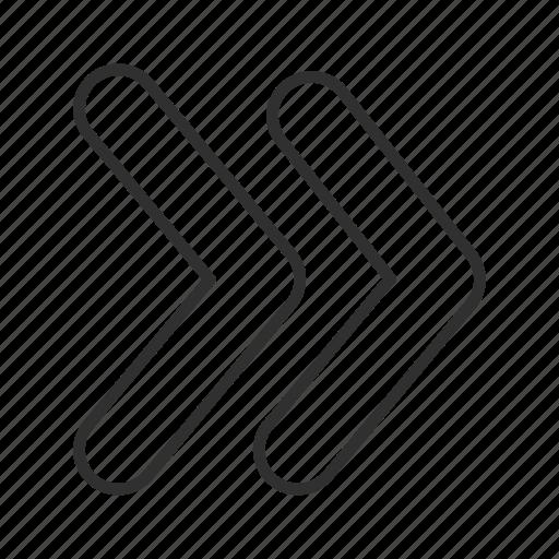 arrow, continue, fast forward, forward, next, right, think block arrow icon