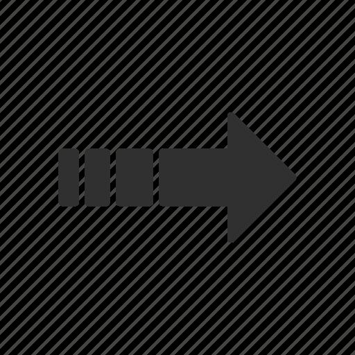 arrow right, direction, next button, pointer icon