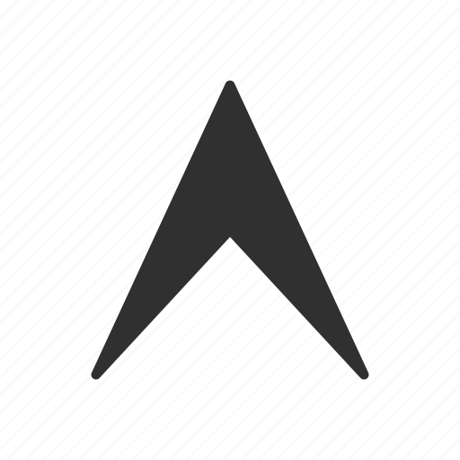 arrow head, direction, navigate, pointer icon