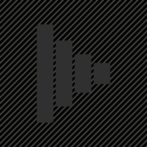 bar, graphical arrow, next, pointer icon