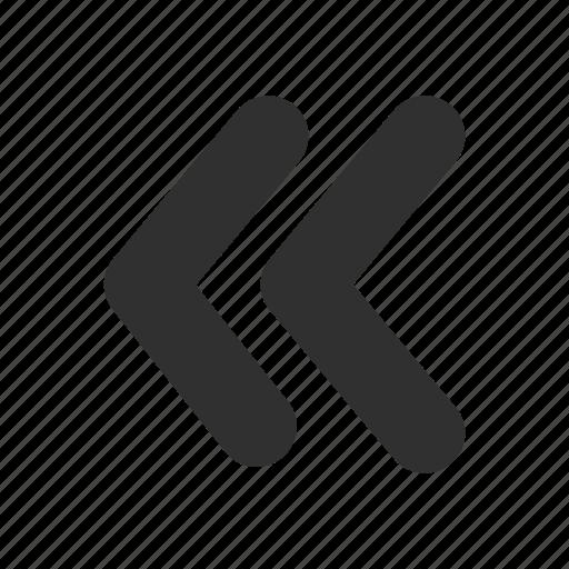arrow left, back button, backward, navigate icon