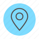 cloud computing, cloud network, cloud services, location services, share location icon