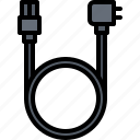 cable, computer, electronics, microelectronics, power, repair