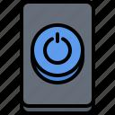 computer, electronics, microelectronics, power, repair icon