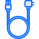 cable, computer, electronics, microelectronics, power, repair icon