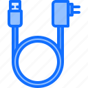 cable, charge, computer, electronics, microelectronics, repair icon