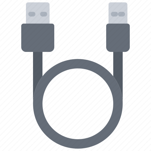 cable, computer, electronics, micro, microelectronics, repair, usb icon