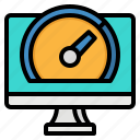 monitor, screen, technology, television, tv icon