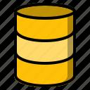 data, database, device, hosting, server, storage, technology icon