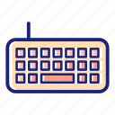 business, computer, internet, keyboard, pc, technology, work icon