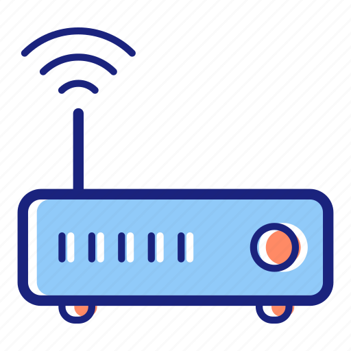 connection, internet, network, router, technology, wifi, wireless icon