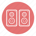 audio, media, music, sound, speaker, technology, volume icon
