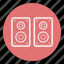 audio, media, music, sound, speaker, technology, volume