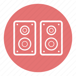 audio, media, music, sound, speaker, technology, volume icon