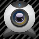 camera, hardware, video camera, web cam, webcam icon