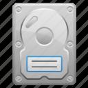 computer part, hard disk, hard drive, hardware, hdd icon