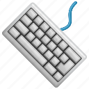 buttons, computer keyboard, computer part, keyboard icon