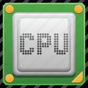 computer part, cpu, hardware, microprocessor, processor icon